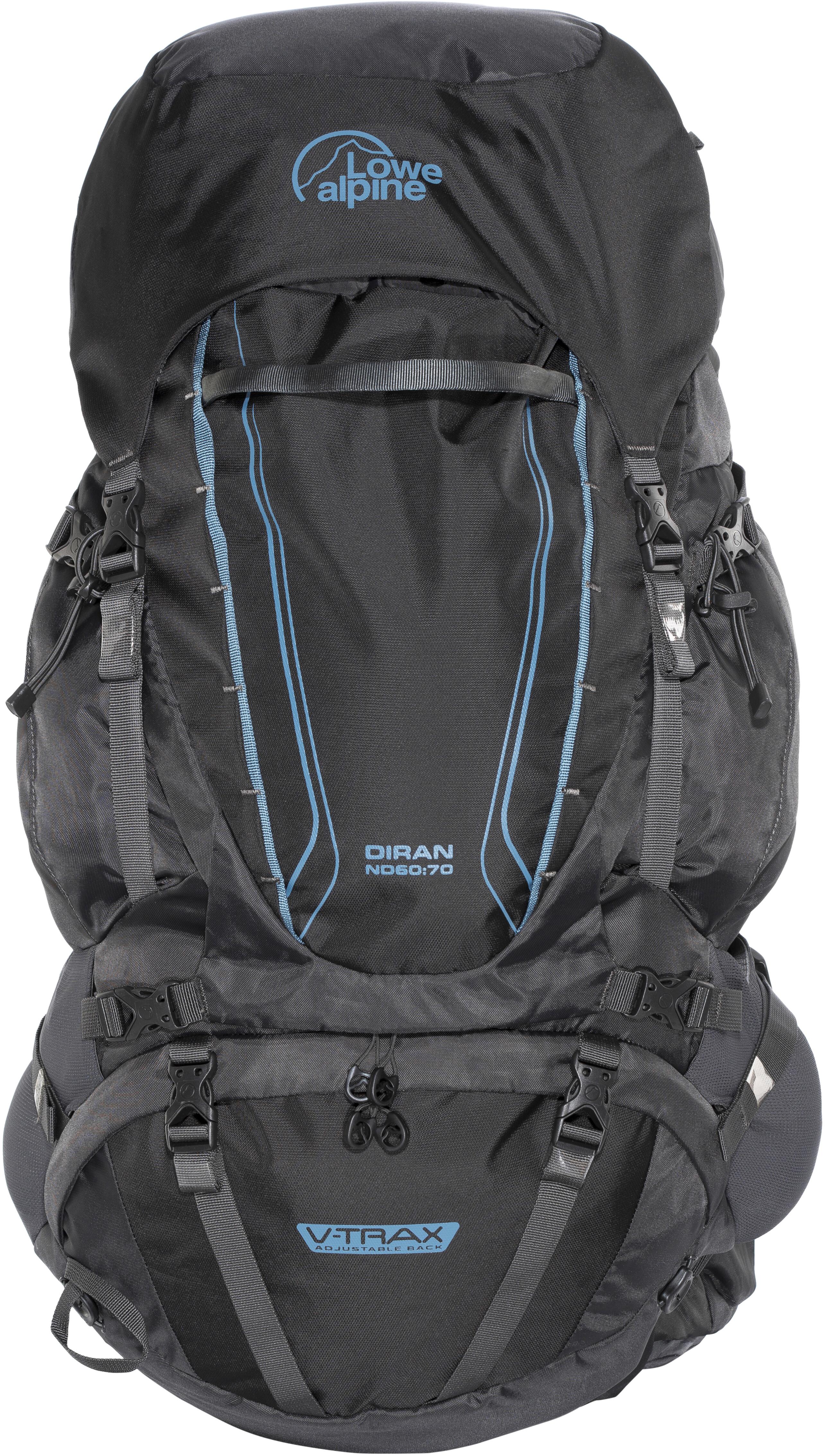 d912ac24b1c Lowe Alpine Diran ND60:70 Backpack Women black at Addnature.co.uk